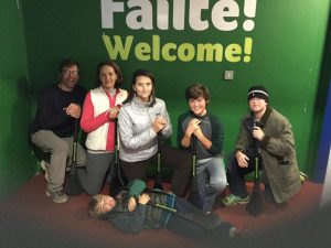 Family fun in Ireland at Experience Gaelic Games