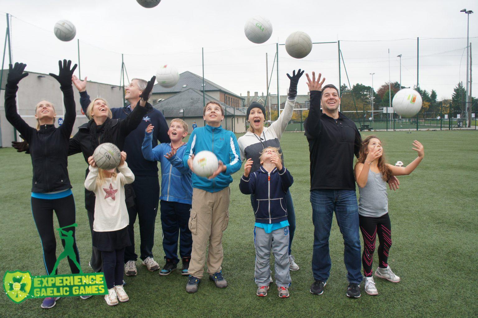family fun when visiting ireland experience gaelic games