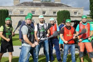 Corporate Team Exercise Building, Czech Group At Carton House