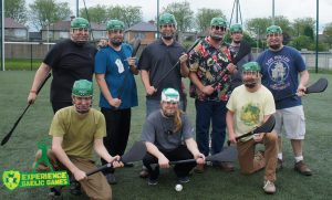 Corporate team building with Experience Gaelic Games!